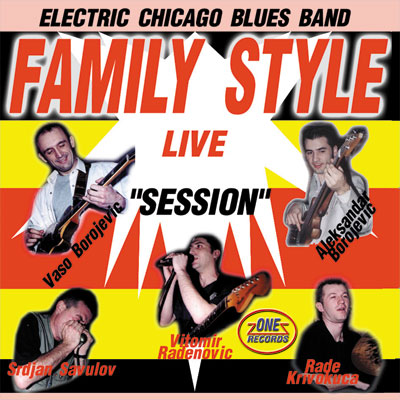 FAMILY STYLE - In session, Live at Coupe